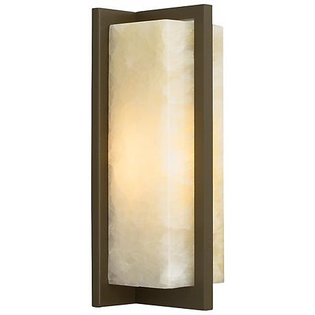 "Coronado 11 1/4"" High Antique Bronze LED Wall Sconce"