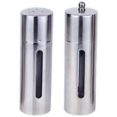 BergHOFF Round 2-Piece Salt and Pepper Mill Set