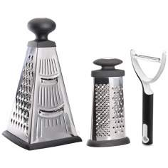 BergHOFF Studio 2-Piece Grater Set with Peeler