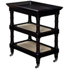 Harbortown Black Tray Table