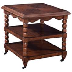 Harrison Collection Rectangular Wood End Table
