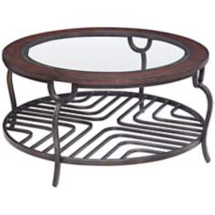 Chaparral Round Cocktail Table