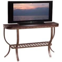 Sierra Wood and Metal Console Table