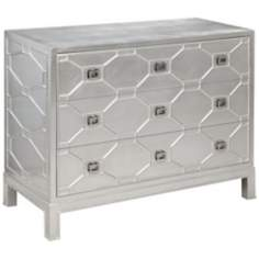 Hollywood Glam 3-Drawer Sterling Chest