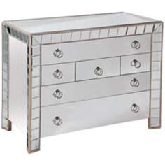 Prisms Mirrored Hall Chest
