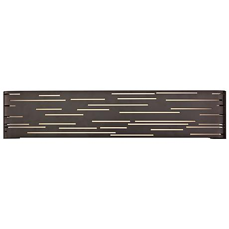 "Tech Lighting Revel Linear 27"" Wide Bronze Wall Light"