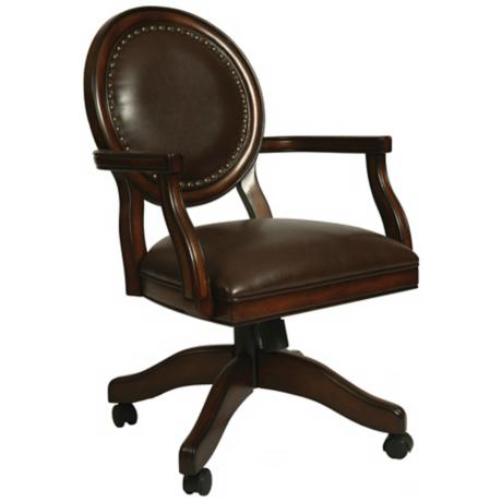 Naples Bay Leather Ridge Office Armchair