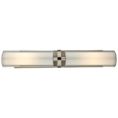 Tech Lighting Sara Double 25 Quot Wide Nickel Wall Light