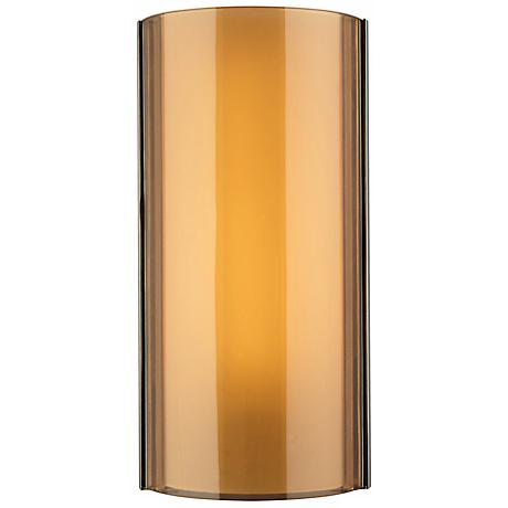 "Tech Lighting Jaxon Brown 14 1/2"" High LED Wall Light"