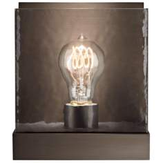 "Corbel Classic Nickel 7/12"" High Tech Lighting Wall Light"