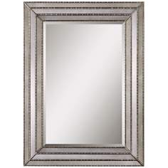 "Uttermost Seymour 46 3/4"" High Rectangular Wall Mirror"