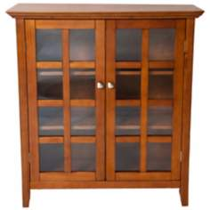Acadian Light Brown Medium Storage Cabinet