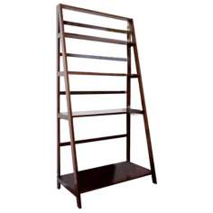 Acadian Combination Ladder Shelf and Desk
