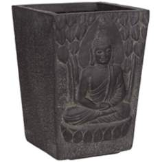 Sitting Buddha Clay Fibre Planter