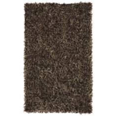 Resort Shag 25153 Brown Area Rug