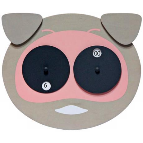 Hamlet Animal Face Child's Wall Clock