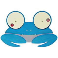 Shelly Blue Crab Child's Wall Clock