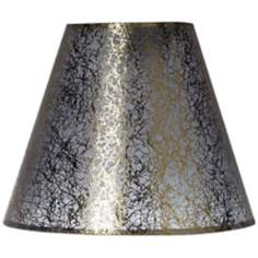 Gold Fiber Translucent Empire Lamp Shade 3x6x5 (Clip-On)