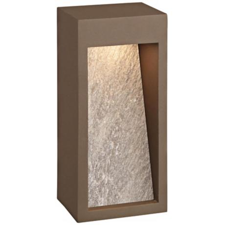 "Forecast Starbeam 10 1/2"" High Bronze LED Wall Sconce"