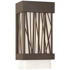 "Forecast Bahia 12"" High Bronze Outdoor Wall Light"