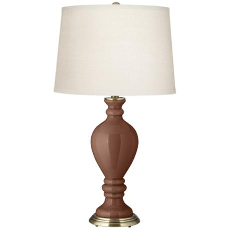 Rugged Brown Civitia Table Lamp