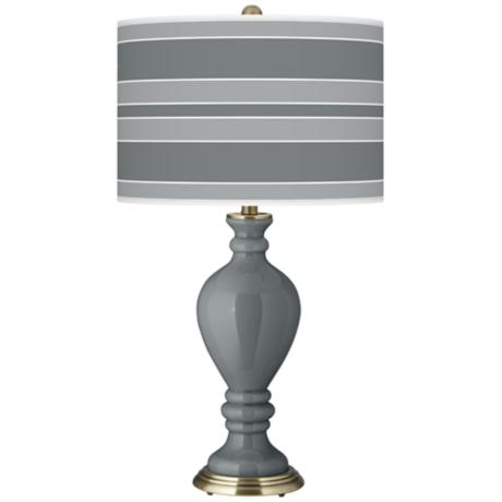 Software Bold Stripe Civitia Table Lamp