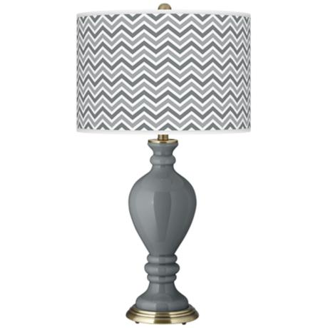 Software Narrow Zig Zag Civitia Table Lamp