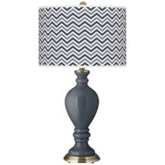 Turbulence Narrow Zig Zag Civitia Table Lamp