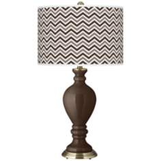 Carafe Narrow Zig Zag Civitia Table Lamp