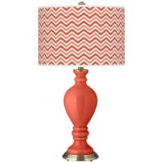 Koi Narrow Zig Zag Civitia Table Lamp