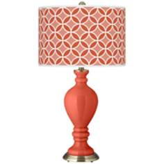 Koi Circle Rings Civitia Table Lamp