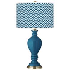 Bosporus Narrow Zig Zag Civitia Table Lamp