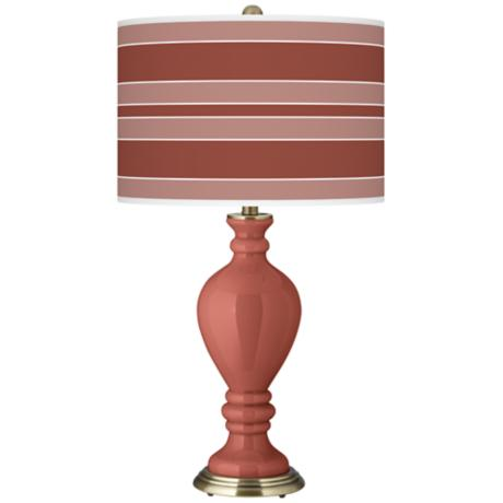 Brick Paver Bold Stripe Civitia Table Lamp