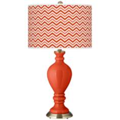 Daredevil Narrow Zig Zag Civitia Table Lamp