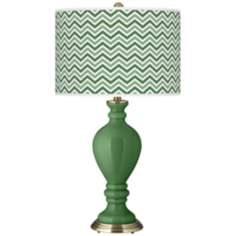 Garden Grove Narrow Zig Zag Civitia Table Lamp