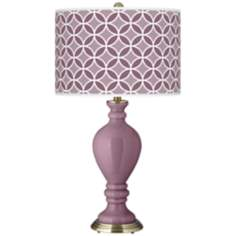 Plum Dandy Circle Rings Civitia Table Lamp
