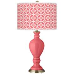 Rose Circle Rings Civitia Table Lamp
