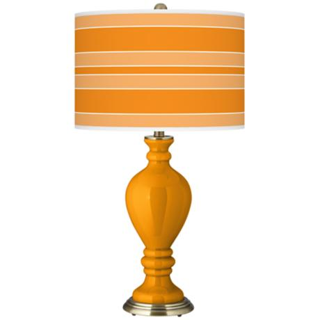 Mango Bold Stripe Civitia Table Lamp