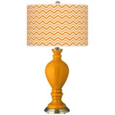 Mango Narrow Zig Zag Civitia Table Lamp