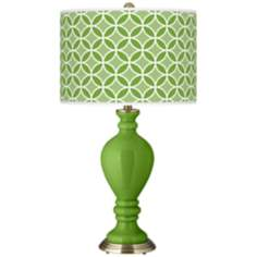 Rosemary Green Circle Rings Civitia Table Lamp