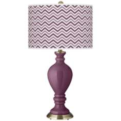 Grape Harvest Narrow Zig Zag Civitia Table Lamp