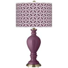 Grape Harvest Circle Rings Civitia Table Lamp