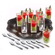 Alexandria Collection 21-Piece Shot Glass Taster Set
