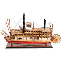 The King of the Mississippi Steamboat Model