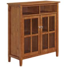 Warm Shaker Honey Brown Medium Storage Cabinet