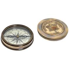 Makers to the Queen Poem Compass Replica