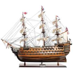HMS Victory Mid Size EE Replica Model British Warship