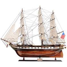 Exclusive Edition USS Constellation Sailboat Replica Model