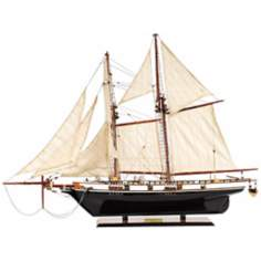 Harvey Sailboat Replica Model