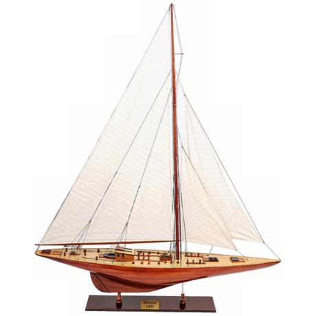 British Endeavour Sailboat Model
